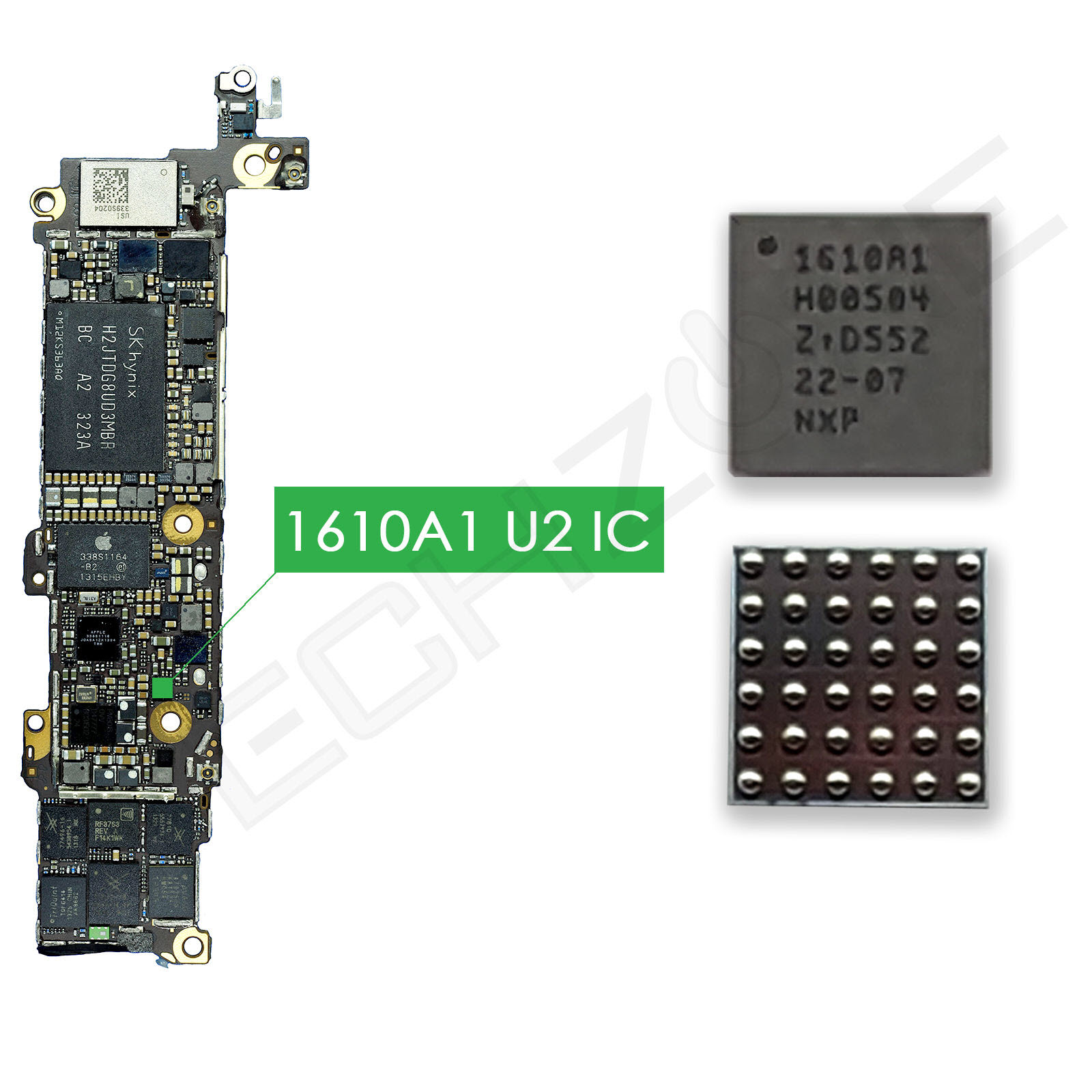 U2 CHARGING IC IPHONE 5C 5S (1610A1)