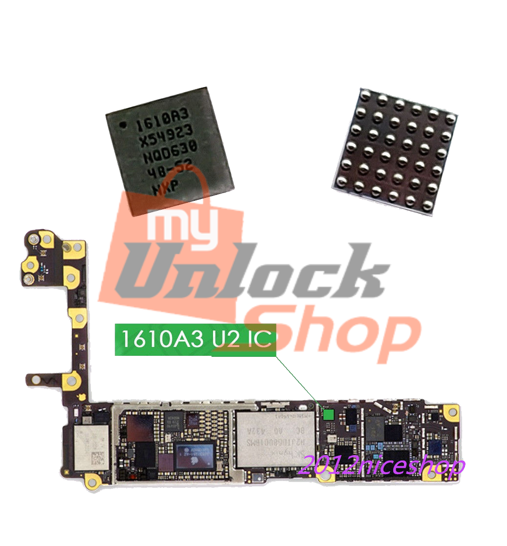 U2 CHARGING IC 1610A3 FOR IPHONE 5S, 5C, 6, 6+, 6S, 6S+, SE