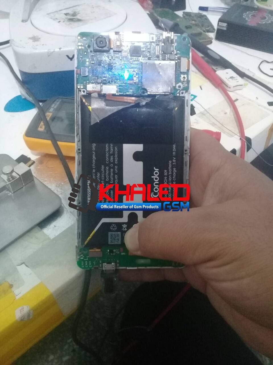 تم وبحمد الله تجربة Easy Chip Charging Fixer على هاتف كوندور C6 PRO به مشكل شحن وهمي
