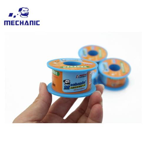 Mechanic low-temperature lead-free welding wire [0.3mm]