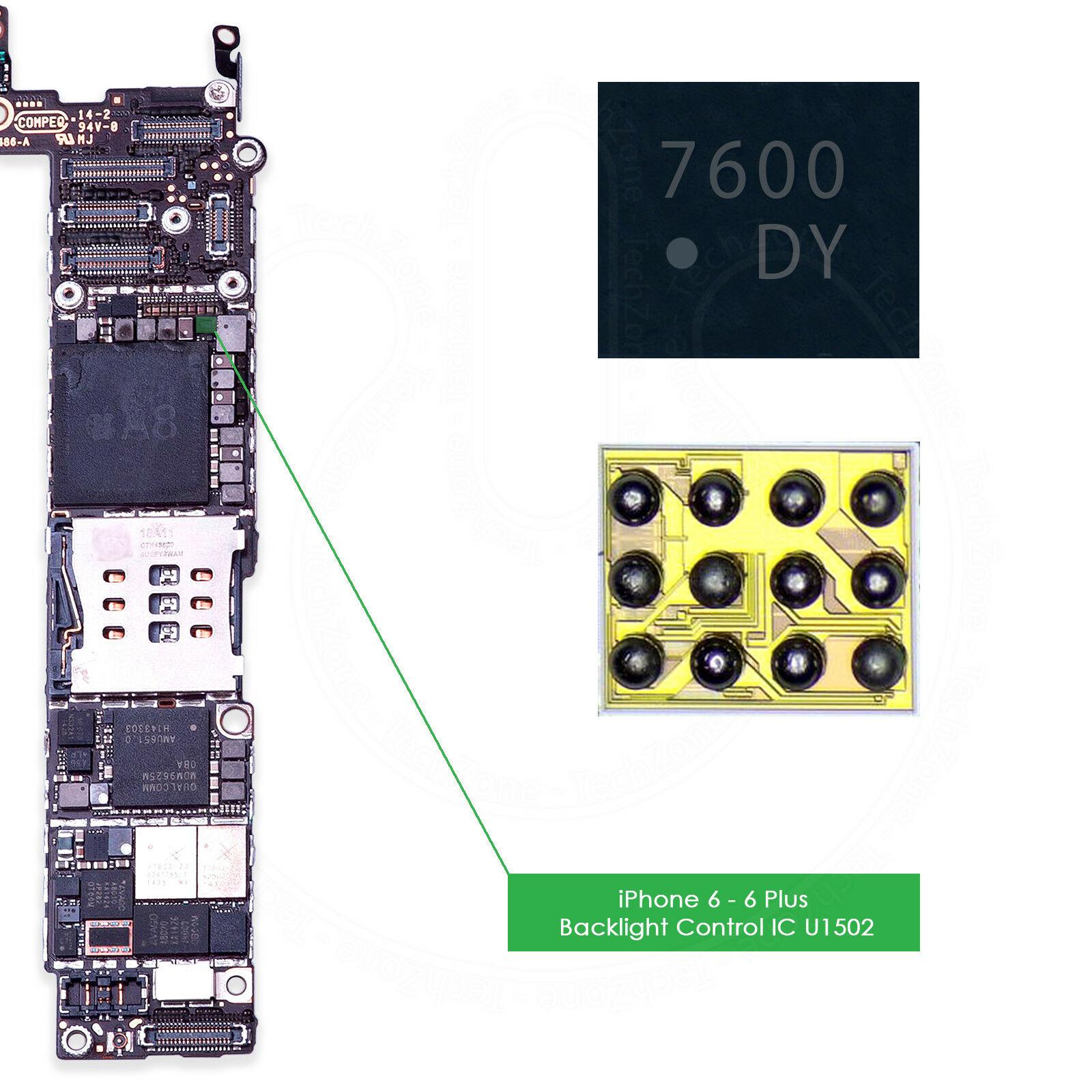 U1502 & U1580 Backlight IC for iPhone 6 & 6 Plus