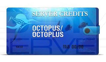 Octopus/Octoplus Server Credits