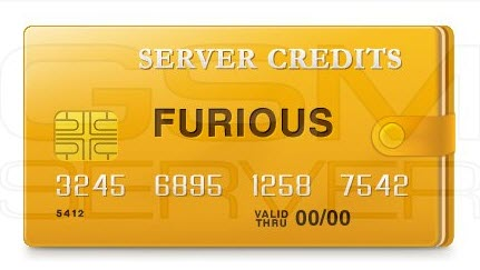 FURIOUS GOLD SERVER CREDITS