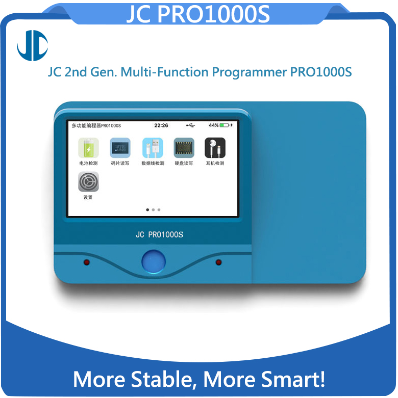 JC Pro 1000S Whith 32BIT/64BIT Nand Repair Socket
