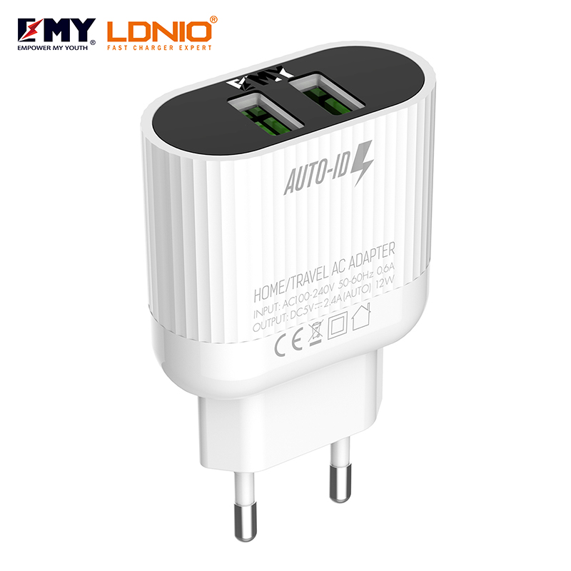 LDNIO SUB BRAND EMY MY-A202 CHARGER