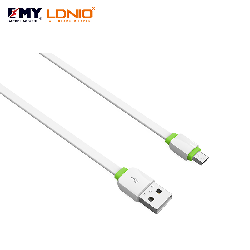 LDNIO Sub brand EMY MY-445 good quality usb data cable micro cable for charging and data transmission