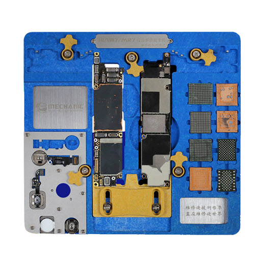 MECHANIC MR7 Double-layer Motherboard PCB Fixture Fingerprint CPU Chip Remove for iPhone A7 A8 A9 A10 A11 A12 NAND PCIE Motherboard