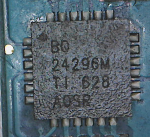 Charge Control IC BQ24296