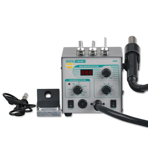 Quick 706W+ 2 in 1 Digital Rework Station