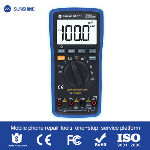 SUNSHINE DT17N Auto Range lcd display Multimeter Digital Multimeter