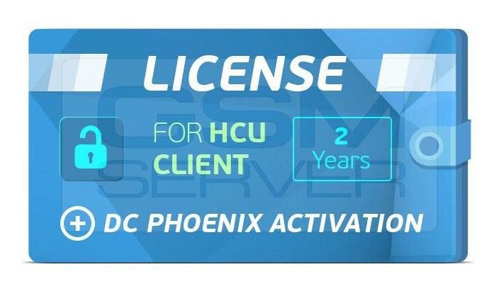 2 YEARS DC-PHOENIX + HCU UNLIMED LICENSE UNLIMITED ACTIVATION