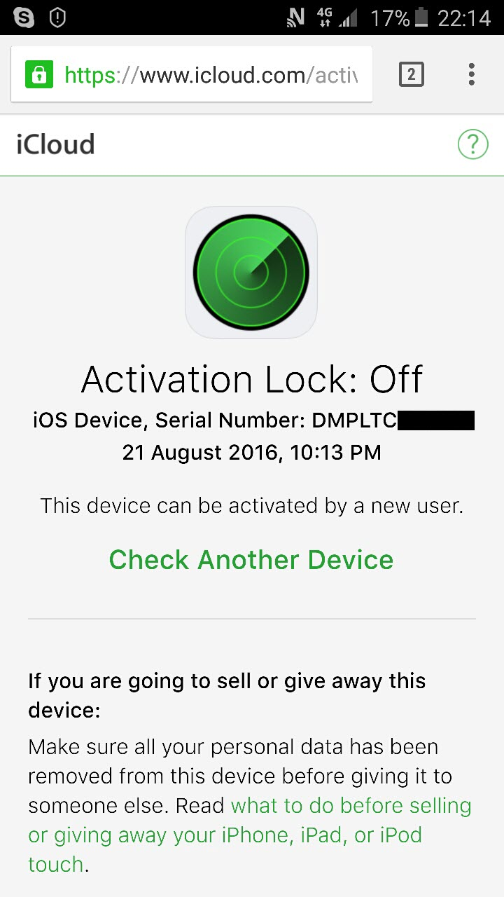 خدمة جديدة:iCloud Removal Service For iPad Wifi Only and iPods , iWatch 100% Result