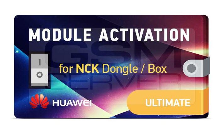 Ultimate NCK Huawei Module Activation