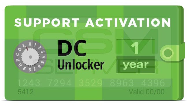 DC-Unlocker Activation (1 Year Support)